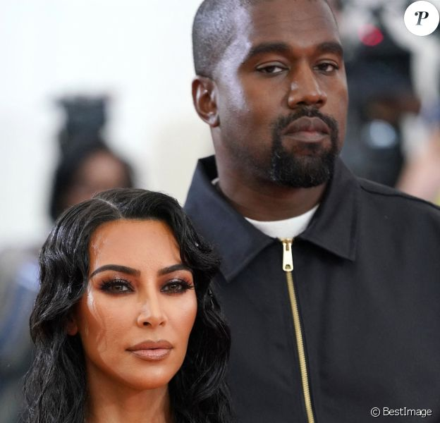 "Kim Kardashian et son mari Kanye West - Arrivées des people à la 71ème édition du MET Gala (Met Ball, Costume Institute Benefit) sur le thème ""Camp: Notes on Fashion"" au Metropolitan Museum of Art à New York."