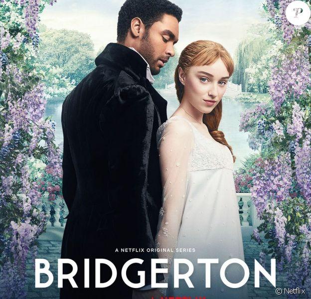 Photo promo de La Chronique des Bridgerton (Netflix).