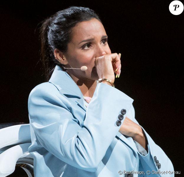 """Shy'm - Enregistrement de l'émission """"La Chanson secrète 7 """" à la Scène musicale à Paris, qui sera diffusée le 15 janvier 2021 sur TF1. © Gaffiot-Moreau / Bestimage"""