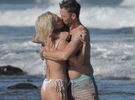 Brian Austin Green : Amoureux et tactile à la plage avec Sharna Burgess