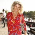 Caroline Margeridon - 7ème édition du Trophée de la Pétanque Gastronomique au Paris Yacht Marina à Paris le 27 juin 2019. © Christophe Aubert via Bestimage