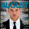 Kellan Lutz en couverture du magazine August