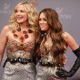 Miley Cyrus et Kim Catrall portent la même robe... le 17 octobre 2009 sur le tournage de Sex and the City !