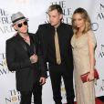Nicole Richie et son conjoint Joel Madden à la soirée des Noble Awards, le 18 octobre 2009
