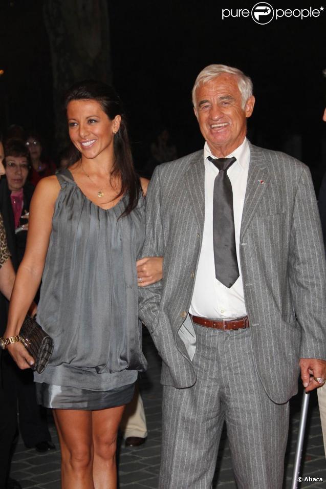Jean-Paul Belmondo et sa compagne Barbara