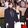 Vanessa Paradis et Johnny Depp aux Screen Actors Guild Awards à Los Angeles en février 2005 : rétro et chic !