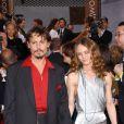 Vanessa Paradis et Johnny Depp brillent aux Golden Globes en janvier 2006