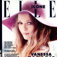 """Vanessa Paradis en couverture de """"ELLE Icône"""", numéro du 12 février 2021."""