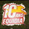 à la soirée organisée pour les 10 ans de la chaîne Equidia. 20/10/09
