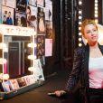 """Exclusif - Natasha St Pier - Backstage de l'enregistrement de l'émission """"300 Choeurs chantent pour les Fêtes"""", qui sera diffusée le 24 décembre sur France 3, à Paris. Le 14 septembre 2020 © Tiziano Da Silva / Bestimage"""