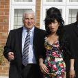 Amy Winehouse et son papa Mitch
