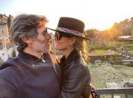 Laeticia Hallyday et Jalil Lespert enfin réunis à Los Angeles : tendre baiser au coucher du soleil
