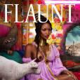 Naomi Campbell en couverture de Flaunt en version non censurée