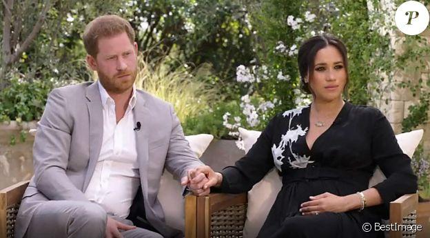 La chaîne CBS va diffuser l'entretien du prince Harry, Meghan Markle et la présentatrice américaine Oprah Winfrey, le 7 mars 2021.