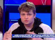 """The Vivi (The Voice 2021), le scandale : """"Je ne suis pas raciste, homophobe, pédophile ou misogyne"""""""