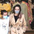 Exclusif - Angelina Jolie et sa fille Vivienne Jolie-Pitt font une sortie shopping ensemble à Hollywood. Le 29 mars 2021.
