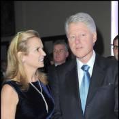 Bill Clinton partage son dîner avec... la fille de Silvio Berlusconi et son amoureux !