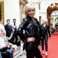"""Chantal Ladesou au défilé """"Over Fifty... et alors !"""" à la galerie Vivienne à Paris le 17 Juin 2019. © Dominique Jacovides/Bestimage"""