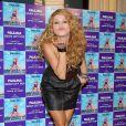 La torride Paulina Rubio... sur tapis rouge vous envoie des bisous !
