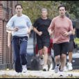 Katie Holmes et Tom Cruise du jogging (Santa Monica - 31 octobre 2009)