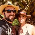David Mora de Scènes de ménages prend la pose avec sa compagne Davina Vigné, enceinte, sur Instagram.