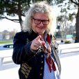 EXCLUSIF - Pierre-Jean Chalençon - Journée caritative au profit de la Fondation Claude Pompidou à l'Hippodrome de la Côte d'Azur à Cagnes-sur-Mer, le 22 février 2020. © Bruno Bebert / LMS / Bestimage