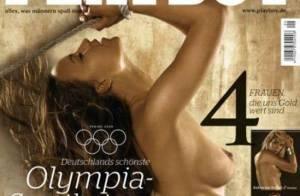 Quatre championnes olympiques allemandes... entièrement nues pour Playboy !