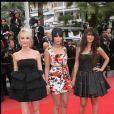 Audrey Lamy, Leila Bekhti et Géraldine Nakache sur le tapis rouge au 63ème Festival de Cannes. 2010