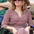 Marine Delterme dans les tribunes lors des internationaux de tennis de Roland Garros à Paris, France, le 4 juin 2019. © Jacovides-Moreau/Bestimage