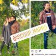 """Mathieu en couple pendant le tournage de """"Mariés au premier regard"""", son ex Cindy balance - Instagram"""