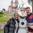 Christina Milian et son compagnon M. Pokora lors du lancement des nouvelles attractions au parc Disneyland à Paris. Le 16 novembre 2019. © Disney via Bestimage