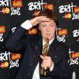 Paul McCartney aux Brit Awards 2008