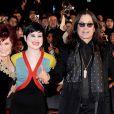 La famille Osbourne aux Brit Awards 2008