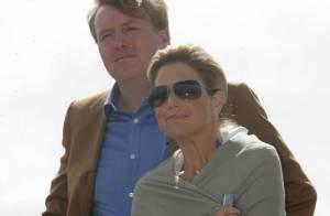 La princesse Maxima des Pays-Bas : Gros frissons en altitude !
