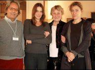 """Carla, Marisa, et Valeria : Les trois """"dames Bruni"""" réunies le temps d'un hommage spécial... c'est exceptionnel !"""