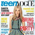 Dakota Fanning en couverture de  Teen Vogue
