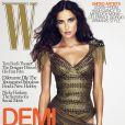 Demi Moore en couverture de W
