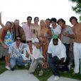 Toute l'équipe de  West Hollywood , en 2008 à Los Angeles.
