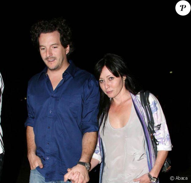Shannen Doherty et son boyfriend Kurt Iswarienko