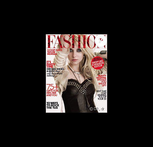 Taylor Momsen en couverture de Fashion Magazine