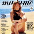 "Laura Smet dans le magazine ""Madame Figaro"" du 11 juin 2021."