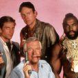 L'agence tous risques version télé, le fameux Looping (Dwight Schultz) est au milieu, entre Mister T et Futé et au dessus de Hannibal