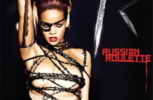 Rihanna : Entre images torrides et insolites, regardez les bonus de son clip Russian Roulette !