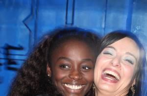 Aïssa Maïga, reine de la nuit, et Cristina Marocco aux platines : une petite fête... entre jolies filles !