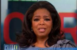 Regardez Oprah Winfrey, en larmes... annoncer son départ de l'antenne !