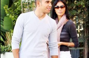 Entre le champion F1 Lewis Hamilton et sa chérie Nicole Scherzinger... c'est toujours l'amour fou !