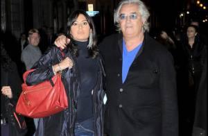 Flavio Briatore en amoureux avec sa belle Elisabetta, bien enceinte, en attendant... le verdict !