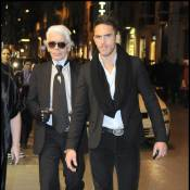 Quand Karl Lagerfeld délaisse sa muse et s'amuse avec... Bob l'éponge !