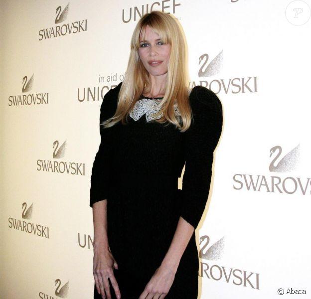 Claudia Schiffer lors d'une soirée Unicef à Londres le 25/11/09