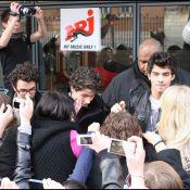 Les Jonas Brothers, invités du 6/9 d'NRJ : une cohue... pire que les jours de soldes ! (réactualisé)